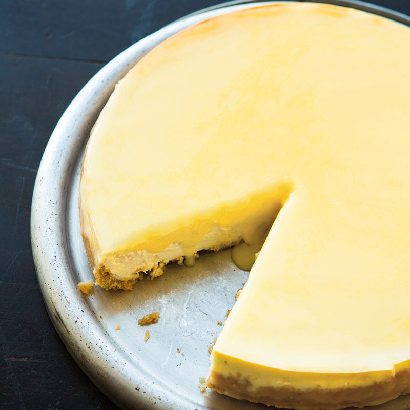 Goat Cheese & Lemon Tart