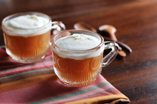 Spiced Apple Jellies with Yogurt Mousse Recipe