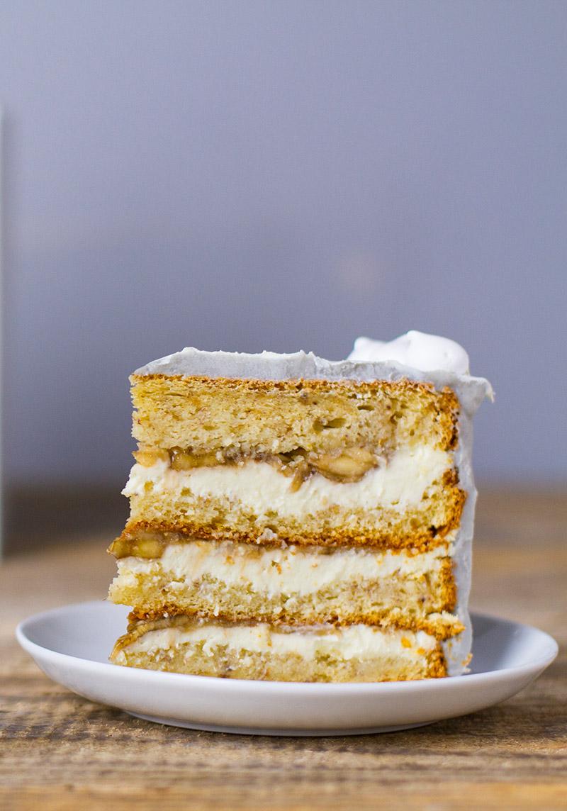 Tasty Banana Dream Cake