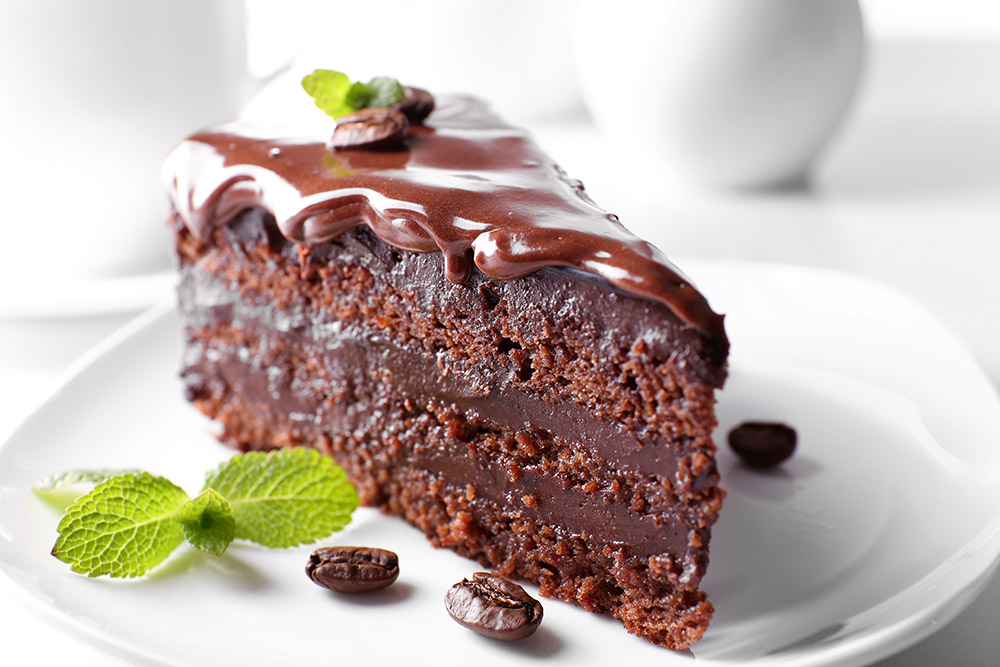 Moist Chocolate Espresso Cake
