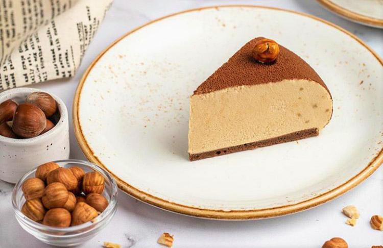 Italian Chocolate Hazelnut Cake with a Taste of Gelato