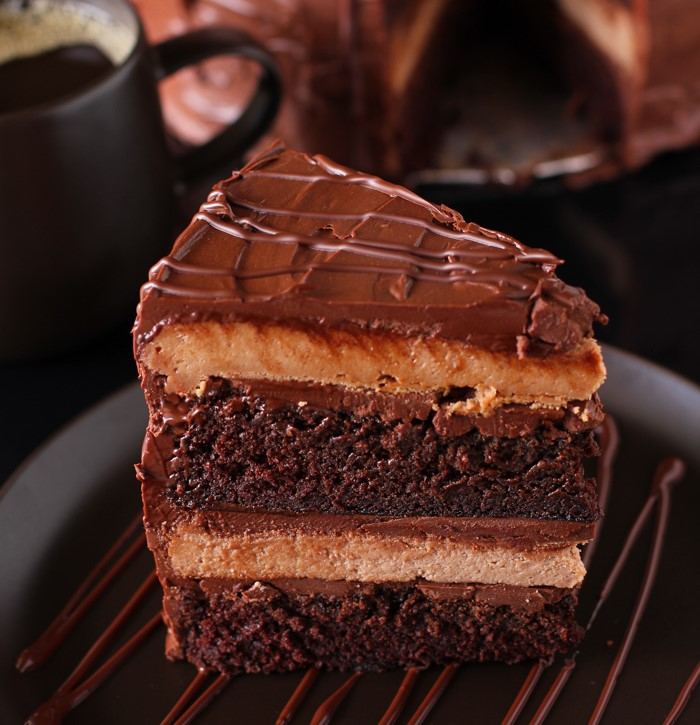 Luxury Escape Chocolate Cheesecake Cake Recipe